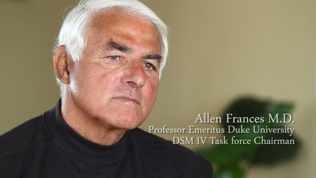 Dr. Allen Frances DSM-IV