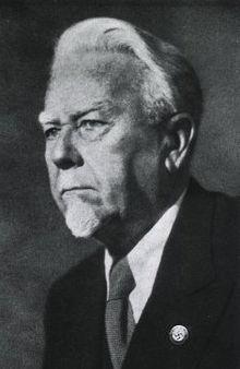 Dr Ernst Rudin with Swastika