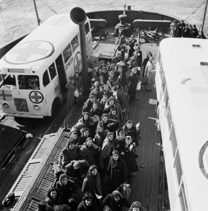 Ravensbruck-rescue White Buses