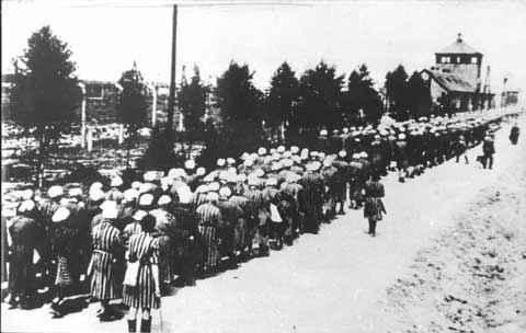Women Slave Laborers--Ravensbruck
