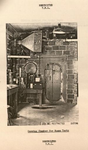 Gas Chamber-- Edgewood Arsenal