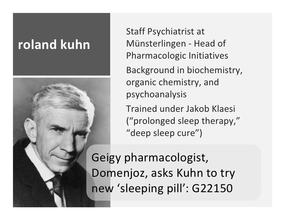 Roland Kuhn Imipramine