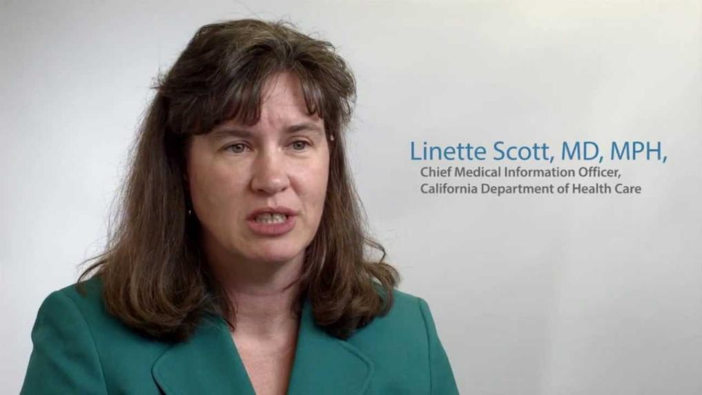 Linette Scott Calif. DHCS