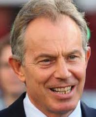 British Prime Minister, Tony Blair