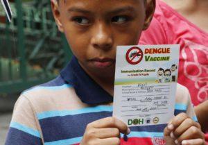 Philippine child vaxinated