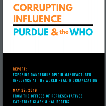 Corrupting Infuence-Purdue & the WHO